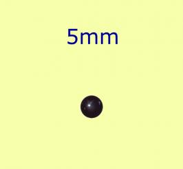 Muggel / 5mm schwarz