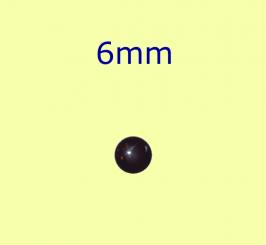 Muggel / 6mm schwarz