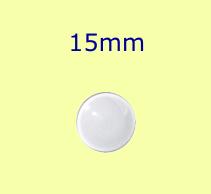 Muggel / 15mm farblos