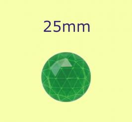 Rauten-Kreis / 25mm grün