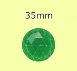 Rauten-Kreis / 35mm grün