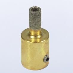 INLAND Schleifdorn 6mm / mit Loch - Körnung 100