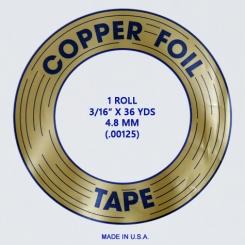 "Kupferfolie EDCO / 4,8mm - 3/16"""