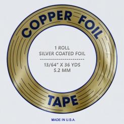 Kupferfolie EDCO / 5,2mm ; silber