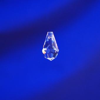 Bleikristall  Tropfen MINI  20x11mm