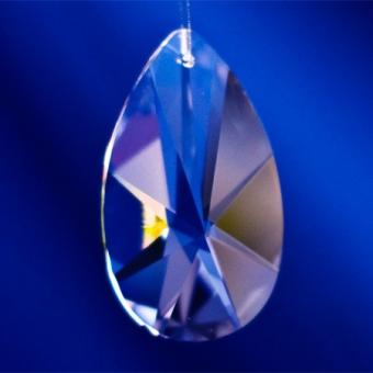Bleikristall  Spitzoval  63x34mm