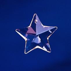 Kristallglas  Stern  30mm