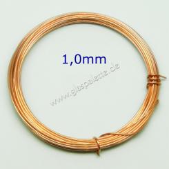 Kupferdraht 1,0mm / 4,5m