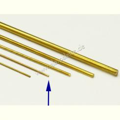 Messingstab 1,0mm / 1m