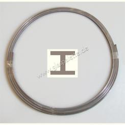 H-Bleiprofil flach 6x4mm / 2m