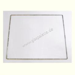 Drahtrahmen Quadrat 30x30cm / verzinkt